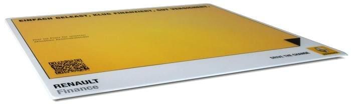 Premium Werbung auf Mousepad
